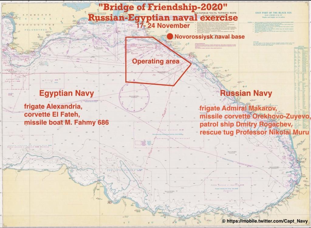 هل ستقام مناورات جسر الصداقة  الروسية المصرية 2020 في البحر الأسود؟ - صفحة 2 Em84ux10