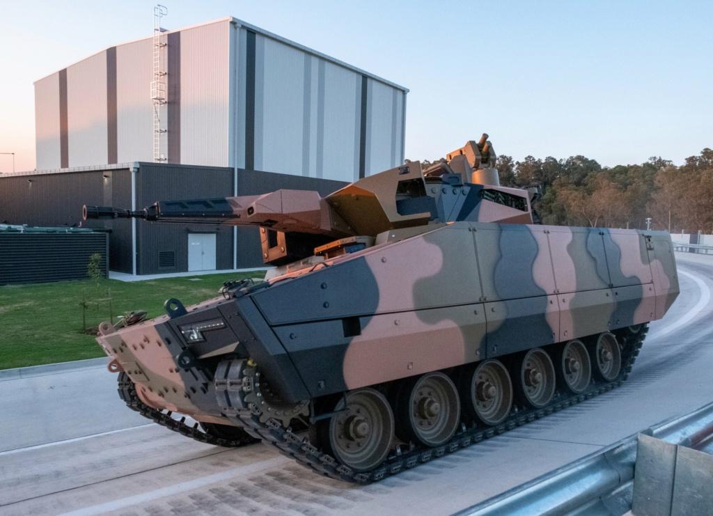 شركة راينميتال تستهدف بمركبتها القتالية الجديدة Lynx السوق الأسترالية Emceft10