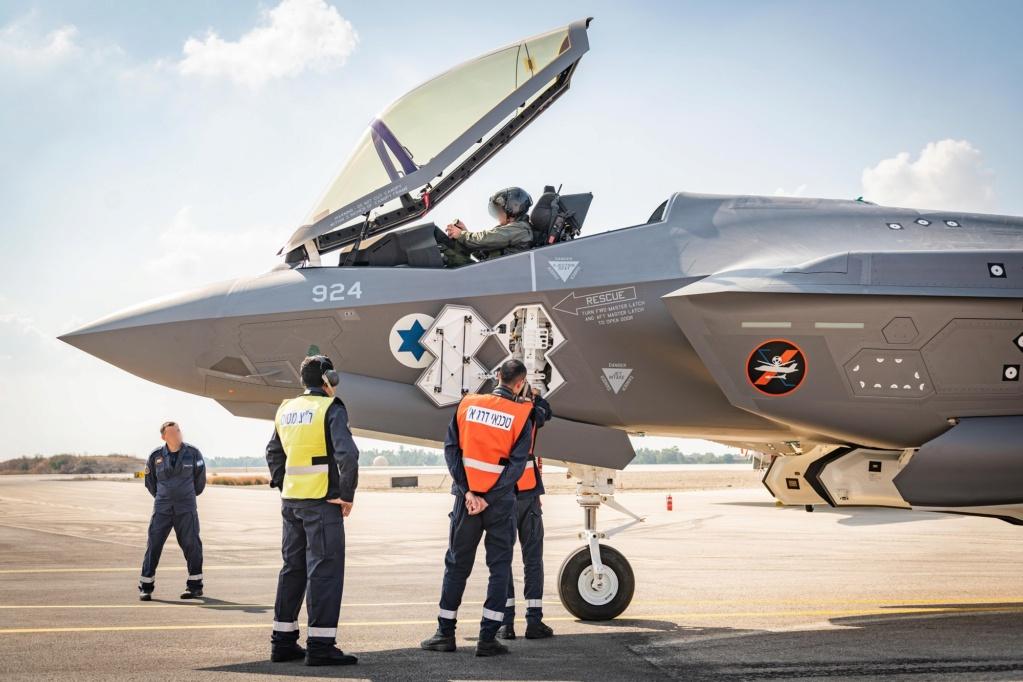 إسرائيل تتسلم أولى مقاتلات «إف 35» الأميركية في ديسمبر - صفحة 4 Emkkh510