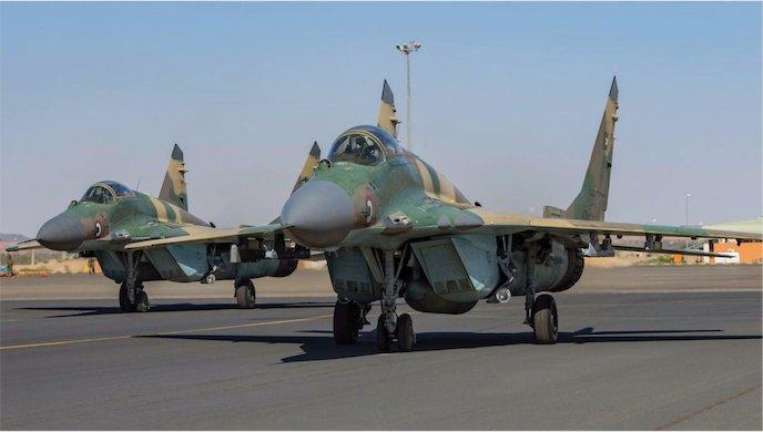"""مقاتلات مصرية تصل السودان ومناورات عسكرية تحت اسم """"نسور النيل 1"""" Emsuy010"""
