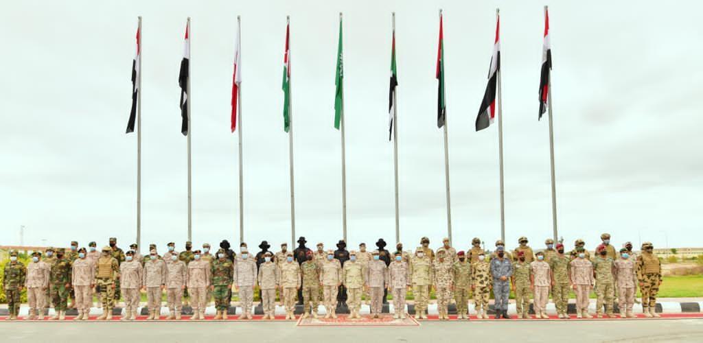 """""""سيف العرب"""" تمارينٌ عسكرية لـ 4 دول عربية Endsjk10"""