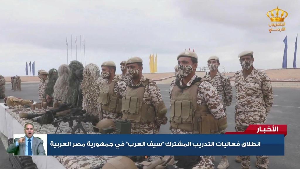 """""""سيف العرب"""" تمارينٌ عسكرية لـ 4 دول عربية Enlh4y10"""