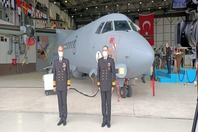 شركة TAI تستلم اول طائره ATR 72-600 للدوريه البحريه Epq3n510
