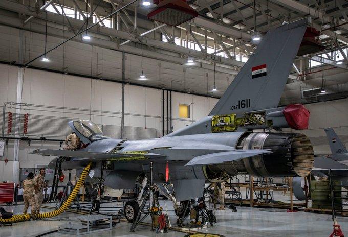 تقرير غربي : على الرغم من مشاركه 23 مقاتله F-16 عراقية في استعراض يوم الجيش فأن الاستعداد القتالي لها موضع شك وقلق Epr8w110