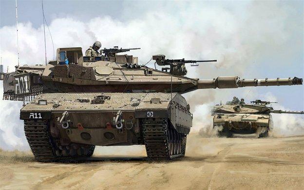 دبابة المعركة الرئيسية  Merkava 4 Eqo_u410