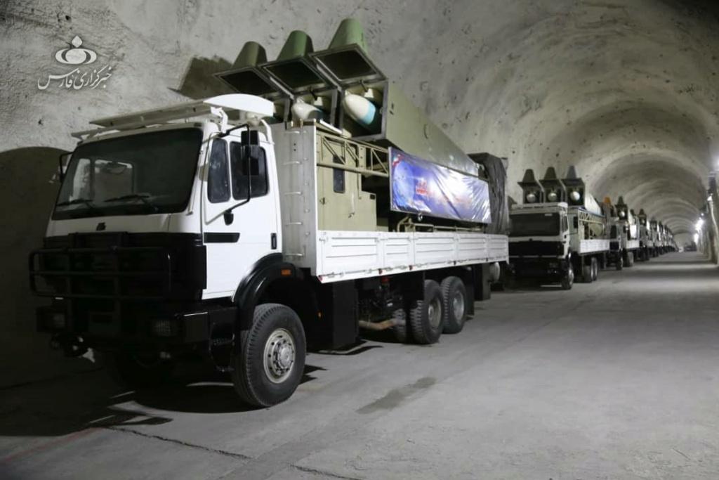 الحرس الثوري الإيراني يكشف قاعدة صواريخ تحت الأرض في الخليج   Ermm0d10