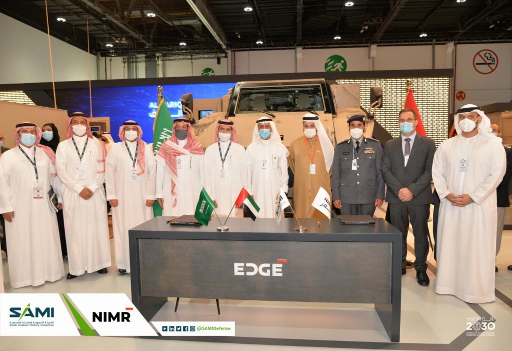 أول اتفاقية صناعات عسكرية بين شركة سعودية وإماراتية لتصنيع عربات (جيس) المقاومه للالغام في المملكة Eu1zqv10