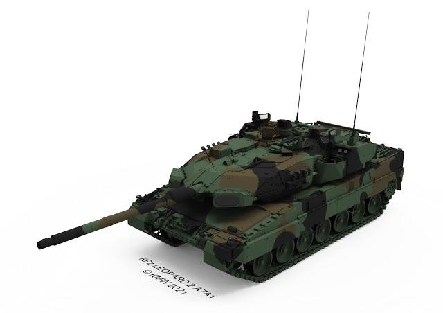 المانيا تشترى نظام الدفاع النشط Trophy الاسرائيلى لحماية دبابات Leopard 2A7A1 Eu5kzr10