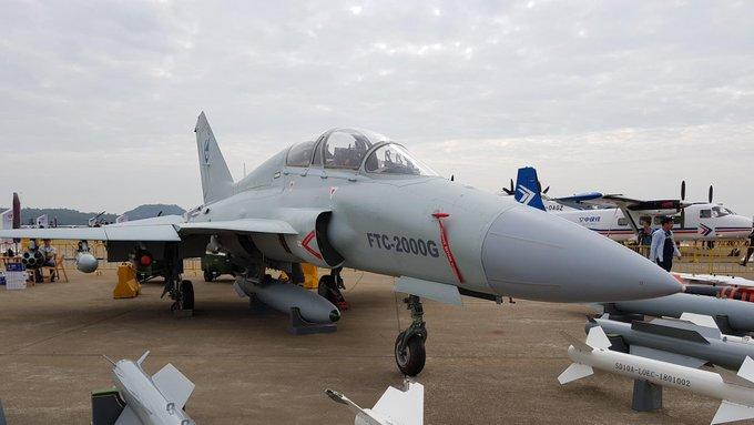 طائرة FTC-2000G  متعددة الادوار التدريبيه / المقاتلة الخفيفة Ewbwma10