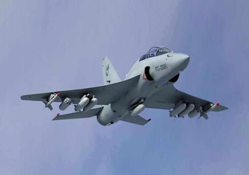 طائرة FTC-2000G  متعددة الادوار التدريبيه / المقاتلة الخفيفة Ewd2q710