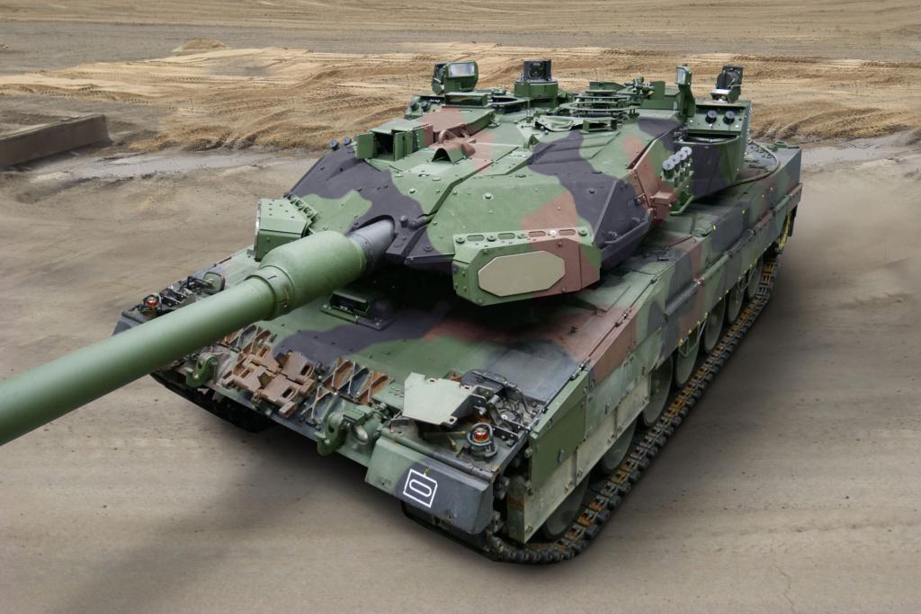 المانيا تشترى نظام الدفاع النشط Trophy الاسرائيلى لحماية دبابات Leopard 2A7A1 Ex0bre10