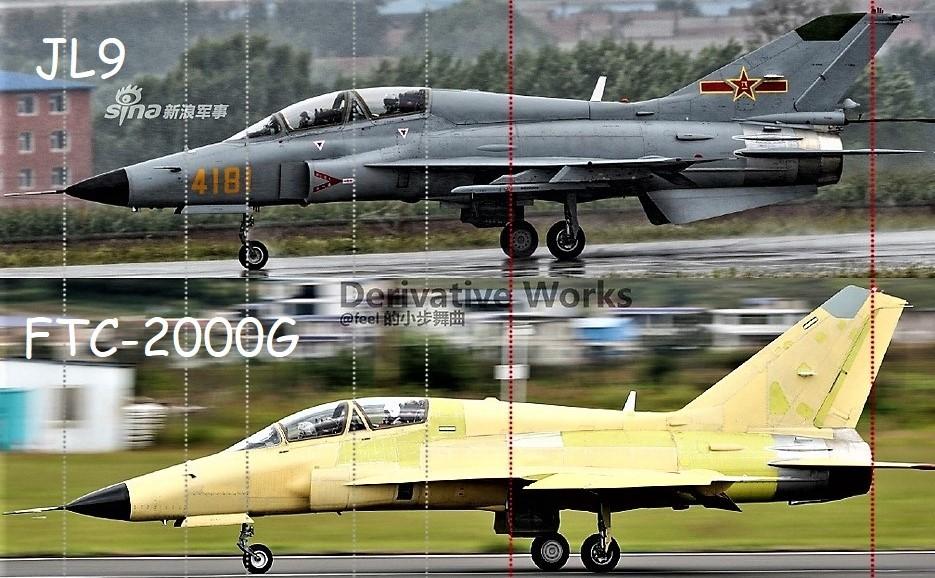 طائرة FTC-2000G  متعددة الادوار التدريبيه / المقاتلة الخفيفة Ex42xm10