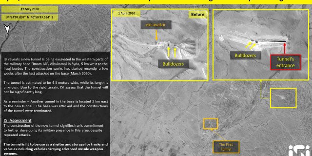فوكس نيوز : ايران تبني مستودعا للاسلحه شرقي سوريا  Ex63bj12