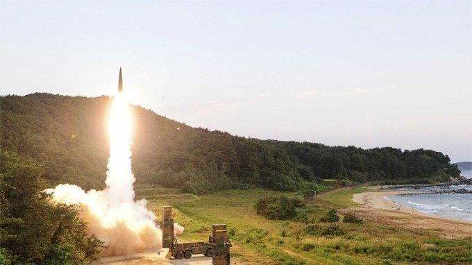 كوريا الجنوبية تجري اختبارًا على صاروخ باليستي جديد Exi1ev10