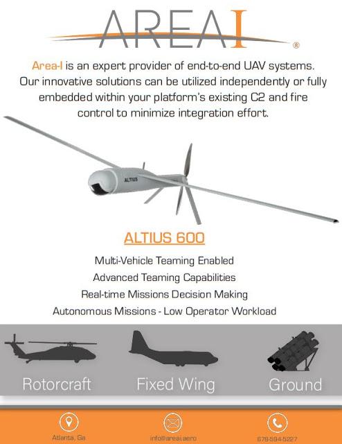 نظام الطائرات الصغيرة بدون طيار ALTIUS-600 Eyslzc10