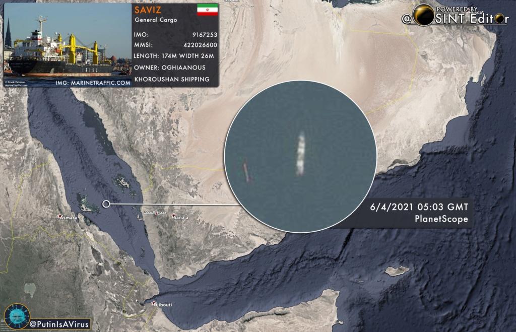 حرب سفن الشحن الإسرائيلية - الإيرانية Eytngp10