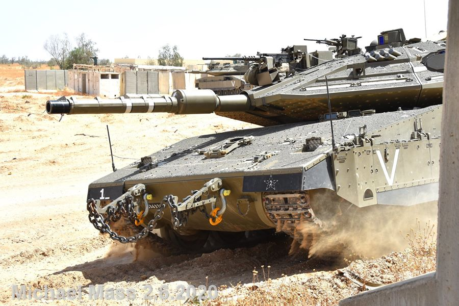 دبابة المعركة الرئيسية  Merkava 4 Ezixme10