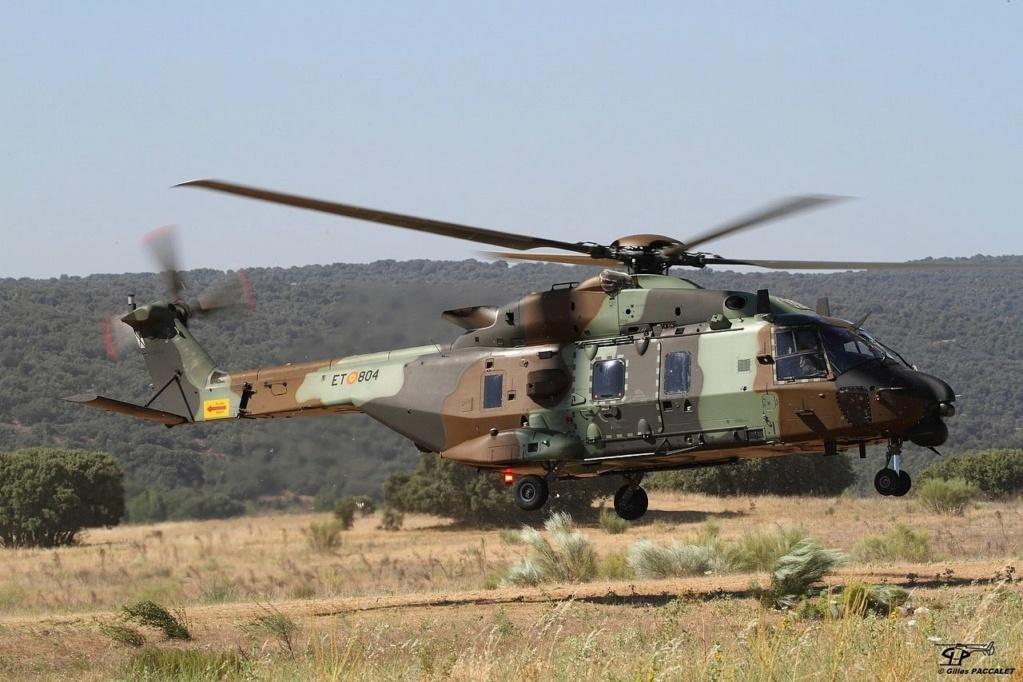 مروحيات NH90 الإسبانية جاهزة للنشر في مالي Ezkkez10