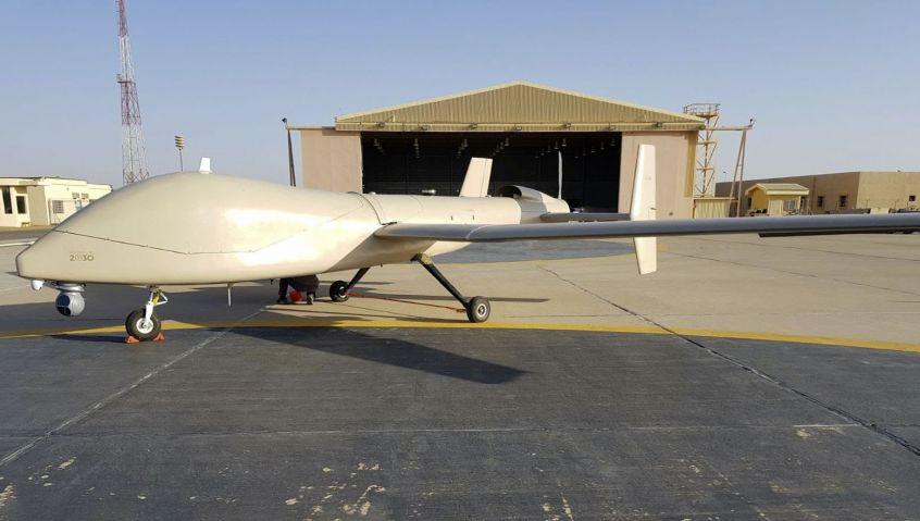 شراكه سعوديه-امريكيه لتطوير الجيل الجديد من طائره Saker-1C المسيره بدون طيار Eznla210