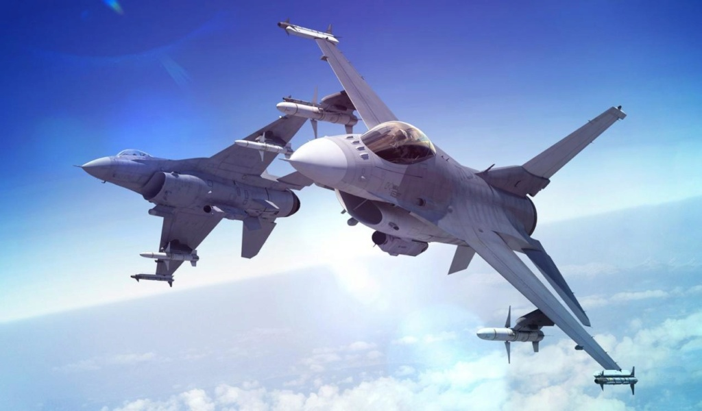المقاتله F-16V او F-16 Viper من لوكهيد مارتن الامريكيه  F16cro10