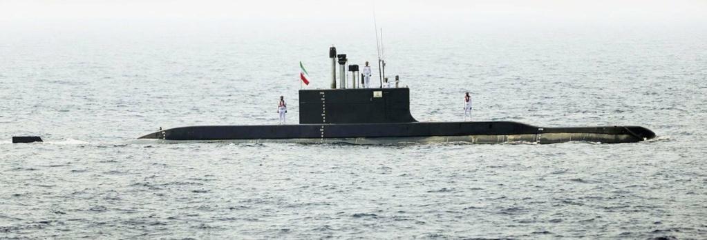 ايران تدعي انها طورت صاروخا مضاد للسفن ذي مدى طويل  يطلق من الغواصات  Fg_37210