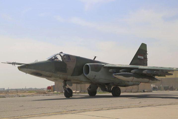 طائرات Su-25 و الطائرات بدون طيار العراقية متوقفة عن العمل بسبب نقص قطع الغيار Fg_39611