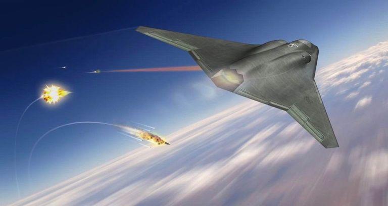 نظرة أولية لطائرة الجيل السادس (NGAD) الغامضة لسلاح الجو الأمريكي. Galler10