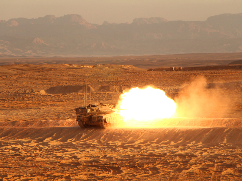 دبابة المعركة الرئيسية  Merkava 4 Image-46