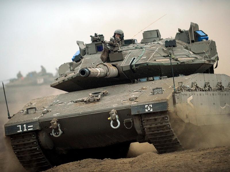 دبابة المعركة الرئيسية  Merkava 4 Image-47