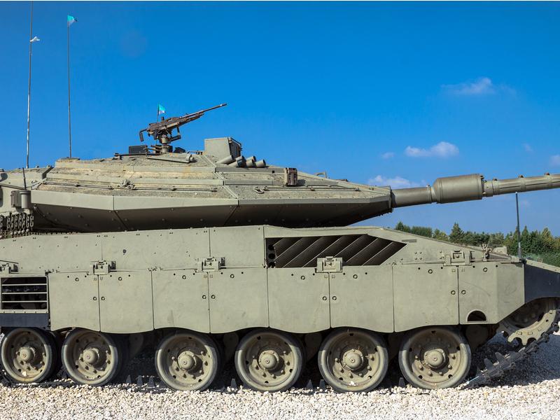 دبابة المعركة الرئيسية  Merkava 4 Image-48