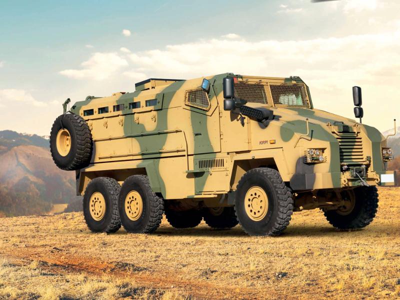 مركبة BMC Kirpi المقاومة للألغام والمحمية من الكمائن MRAP Image-53