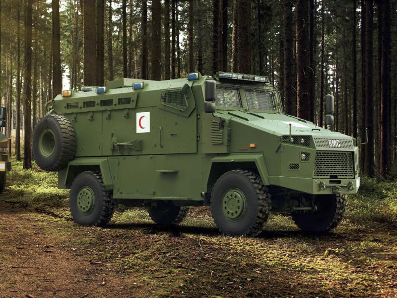 مركبة BMC Kirpi المقاومة للألغام والمحمية من الكمائن MRAP Image-54