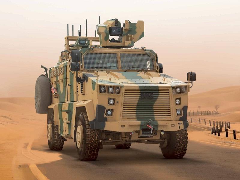مركبة BMC Kirpi المقاومة للألغام والمحمية من الكمائن MRAP Image-55