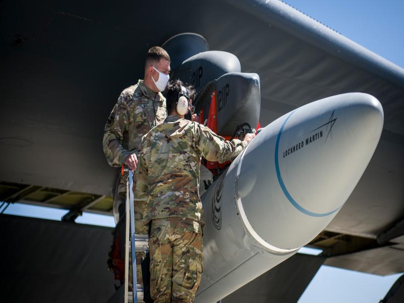 سلاح الاستجابة السريعة AGM-183A الذي يطلق من الجو (ARRW) Image-69
