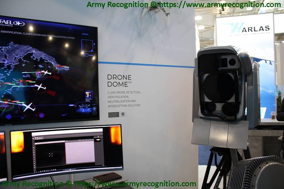 منظومه Drone Dome المضادة للدرونات من انتاج شركة Rafael الإسرائيلية Israel13