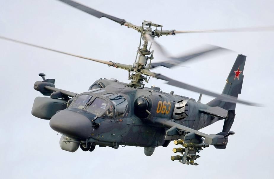 مروحيات Ka-52M ستتفاعل مع الطائرات بدون طيار Ka-52m10