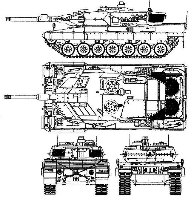 دبابة القتال الرئيسيه Leopard 2A5 Leopar10