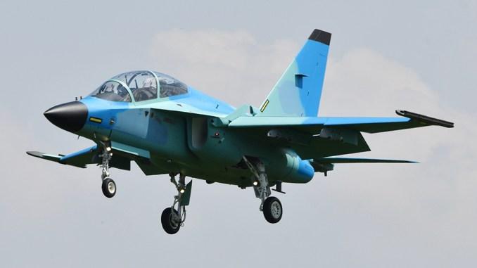 طائرة M-346 Master بتمويه غريب لصالح زبون اجنبي غامض M-346-10