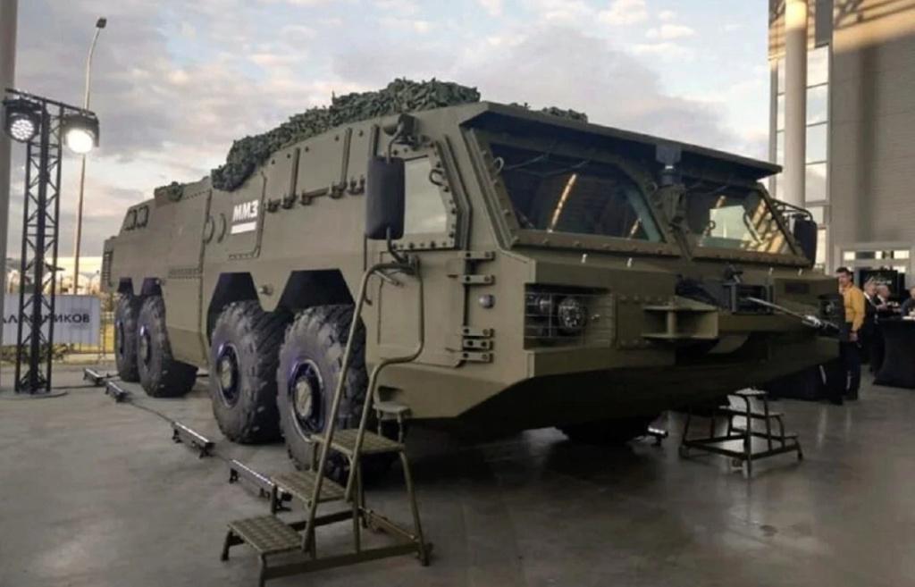 شركة كلاشنكوف الروسية تكشف عن هيل شاحنه لحمل مختلف انظمة الدفاع الجوي القصيرة والمتوسطة المدى M-yhy610