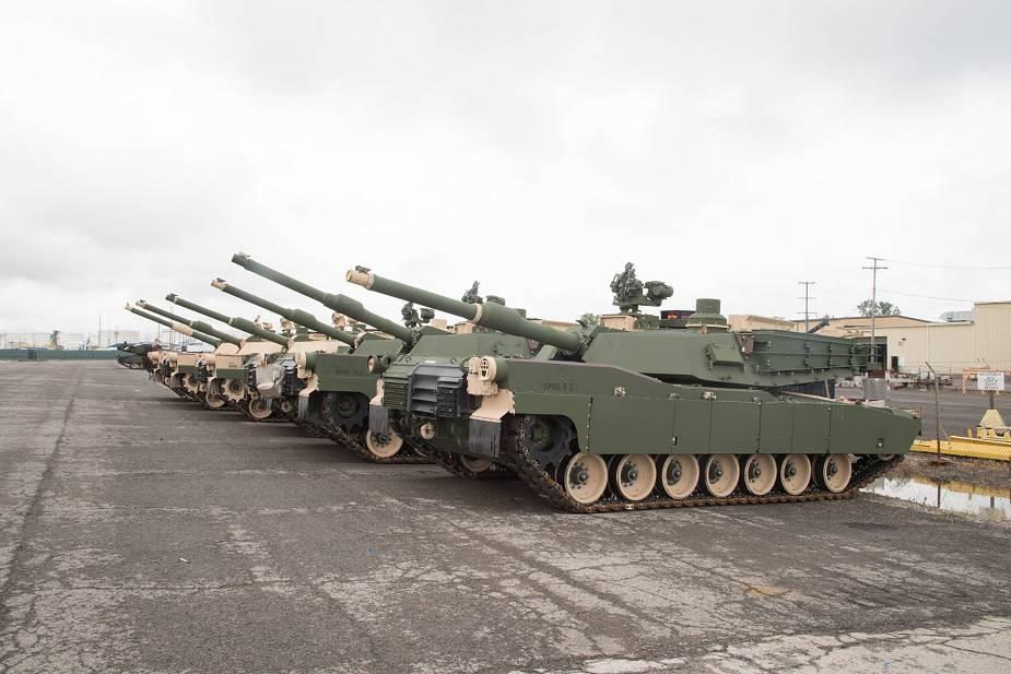 دبابات المعارك الرئيسية M1A2 Abrams بحلول إلى حلول للتخفيف من مشكلات التقادم M1a2_a10
