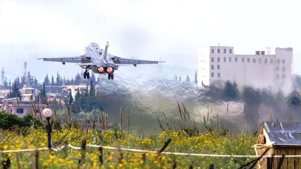 ماهي خطط روسيا المستقبليه في قاعدتها الجوية في حميميم السوريةا؟ Messag14