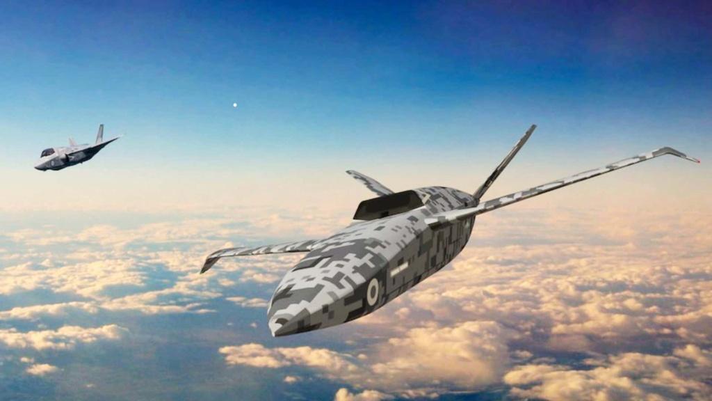 Project Vixen : مفهوم استخدام الطائرات بدون طيار من سطح حاملات الطائرات البريطانية Messag21