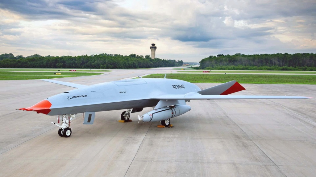 Project Vixen : مفهوم استخدام الطائرات بدون طيار من سطح حاملات الطائرات البريطانية Messag23