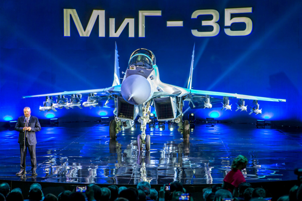 وأخيرا :سوف تدخل MiG-35 (المقاتلة المرفوضة ) اول مراحل الانتاج Mig-3510