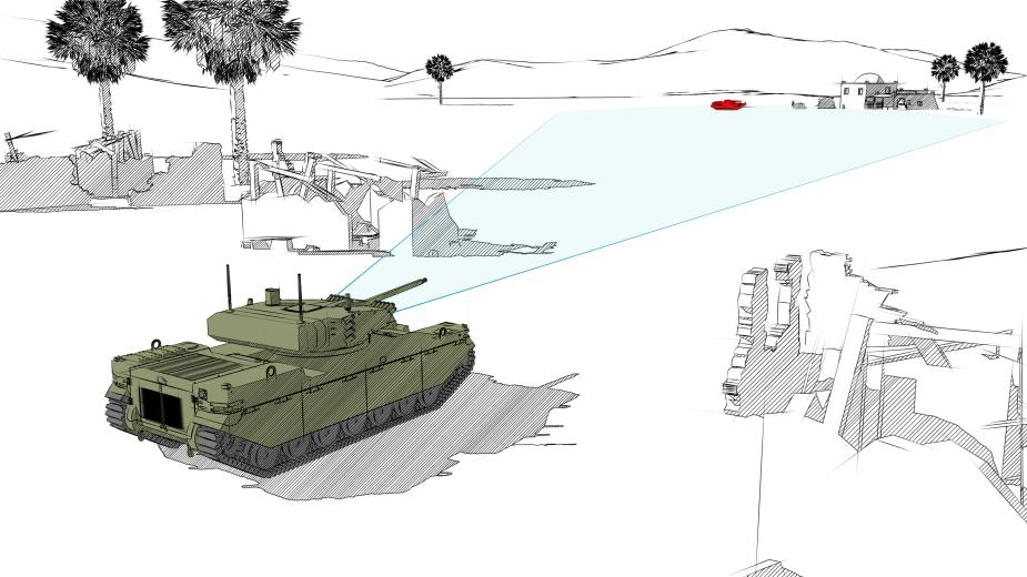المركبة القتالية غير المأهولة من طراز Type-X Milrem10
