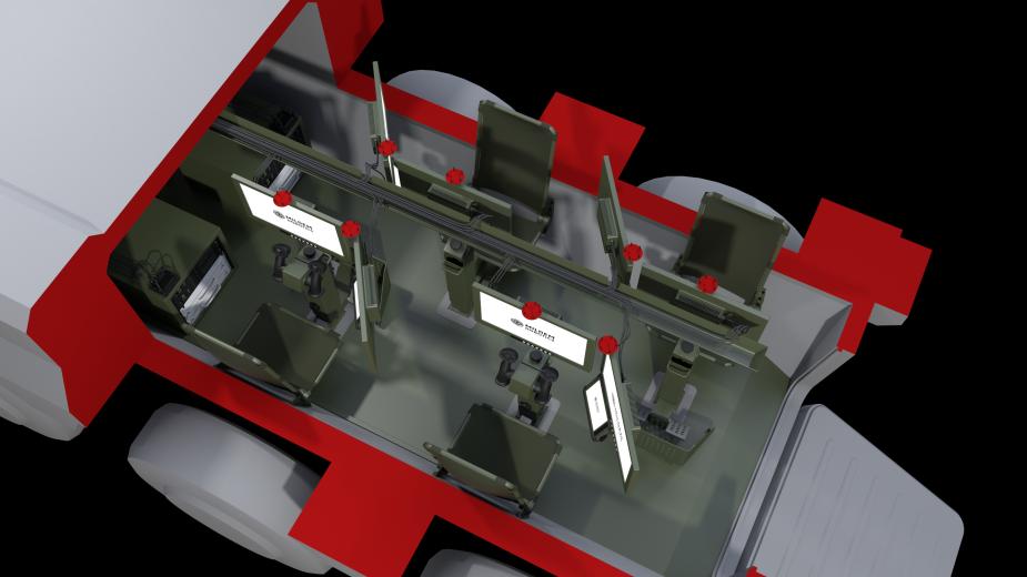 المركبة القتالية غير المأهولة من طراز Type-X Milrem12