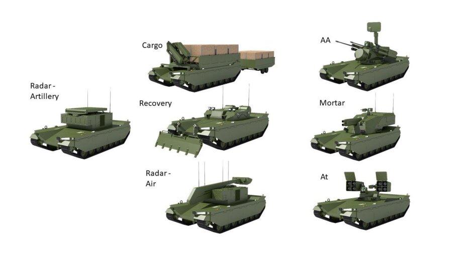 المركبة القتالية غير المأهولة من طراز Type-X Mlrem_10