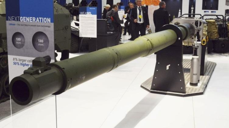 Rheinmetall تتقدم في مشروع تطوير مدفع  دبابة من الجيل القادم عيار 130 ملم P1736610