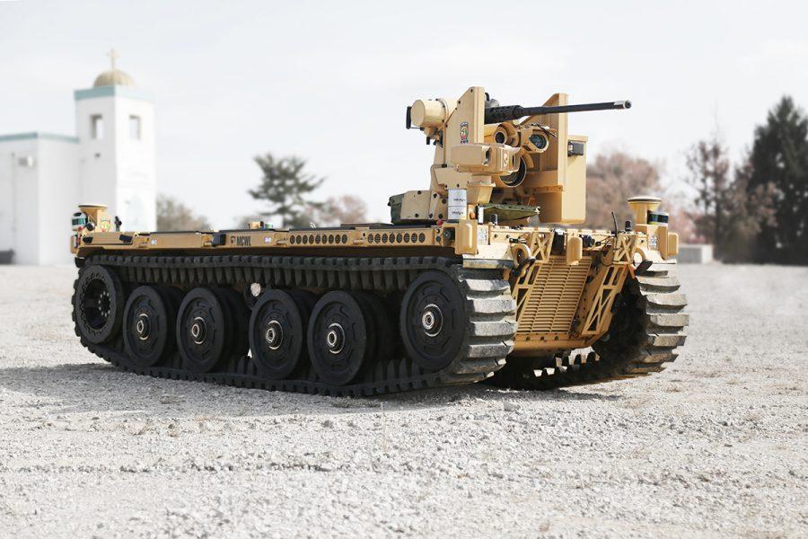 هل ستحل المركبات الأرضية غير المأهوله محل الدبابات؟ Qineti10