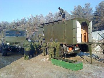 الكنيسه المتنقله ضمن الوحدات العسكريه الروسيه  Russia13